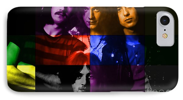 Led Zeppelin IPhone Case by Marvin Blaine