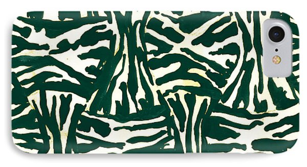 Leo Lipi, Abstract Painter Of Brilliantly Colored Paintings IPhone Case by Artokoloro
