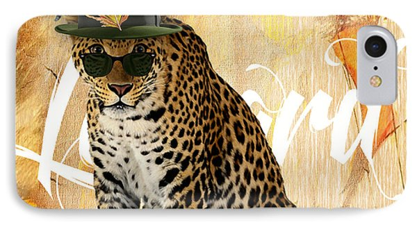 Leopard Collection IPhone Case by Marvin Blaine