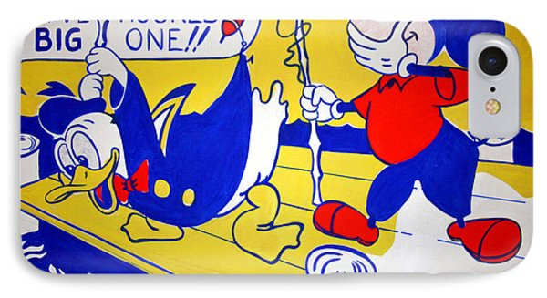 Lichtenstein's Look Mickey IPhone Case