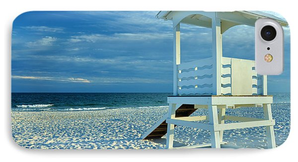 Lifeguard Hut On Beach IPhone Case
