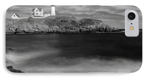 Lighthouse At A Coast, Nubble IPhone Case by Panoramic Images