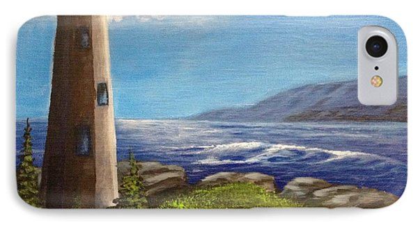 Lighthouse IPhone Case by Bozena Zajaczkowska