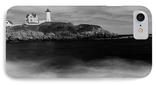 Lighthouse On The Coast, Nubble IPhone Case by Panoramic Images
