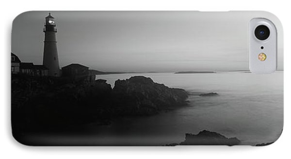 Lighthouse On The Coast, Portland Head IPhone Case