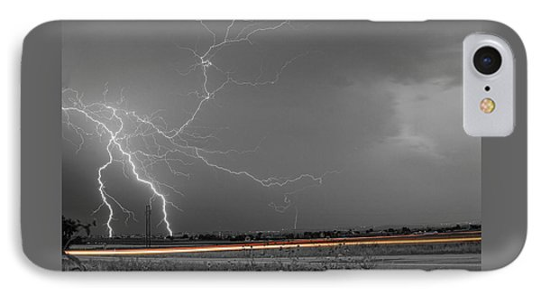 Lightning Thunderstorm Dragon Phone Case by James BO  Insogna