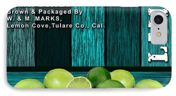 Lime Farm IPhone Case by Marvin Blaine