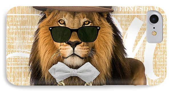 Lion Collection IPhone Case by Marvin Blaine