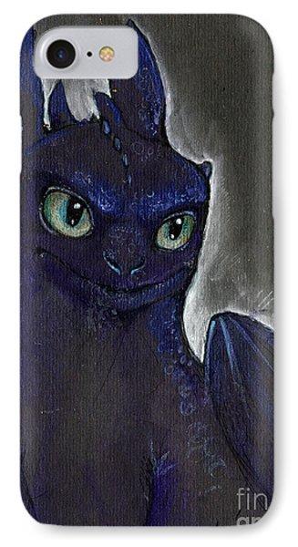 Little Dragon IPhone Case by Angel  Tarantella