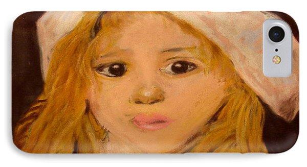 Little Girl Phone Case by Joseph Hawkins