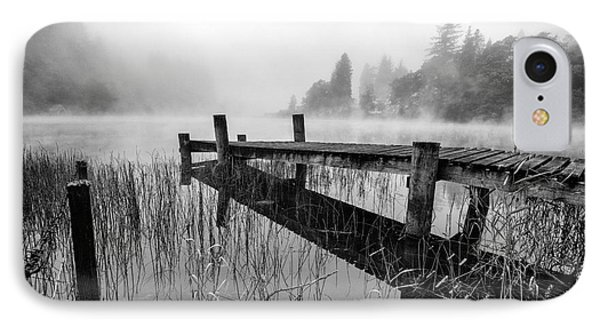 Loch Ard Early Mist IPhone Case
