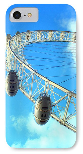 London Eye IPhone Case by Rachel Mirror