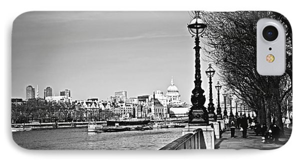 London View From South Bank Phone Case by Elena Elisseeva