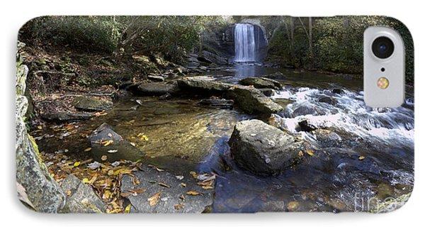 Looking Glass Falls North Carolina IPhone Case by Dustin K Ryan