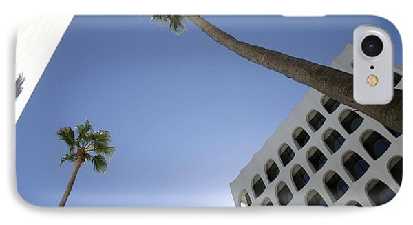 Looking Up In Beverly Hills IPhone Case by Cora Wandel