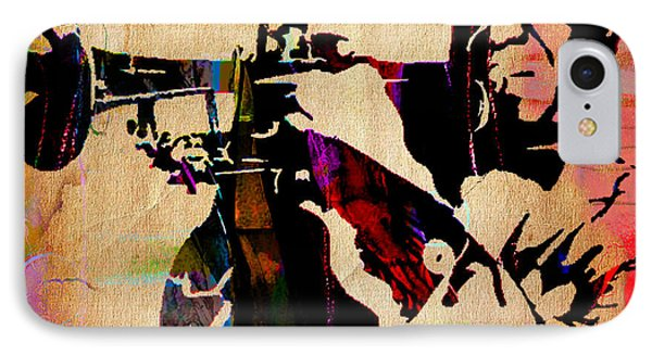 Louis Armstrong Collection IPhone Case by Marvin Blaine