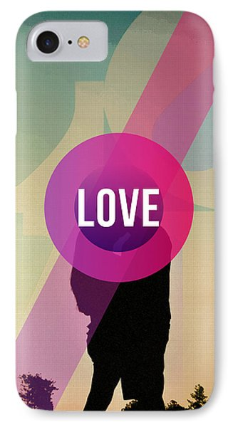 Love IPhone Case by Celestial Images