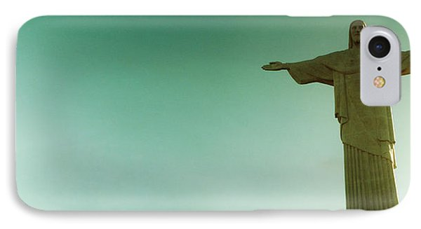 Low Angle View Of Christ The Redeemer IPhone Case by Panoramic Images