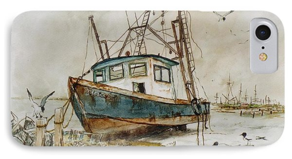 Low Tide IPhone Case by Don Hand