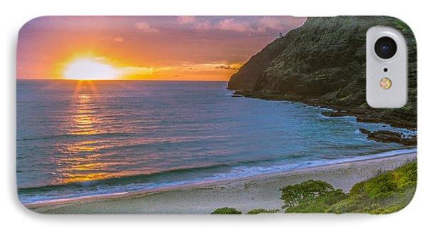Makapuu Sunrise 1 IPhone Case