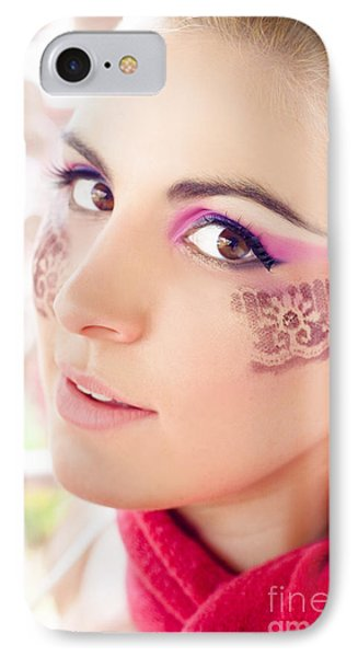 Makeup IPhone Case by Jorgo Photography - Wall Art Gallery