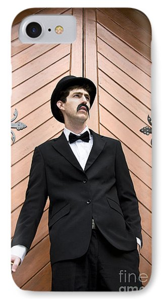 Man In Mourning IPhone Case
