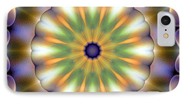 Mandala 105 IPhone Case by Terry Reynoldson
