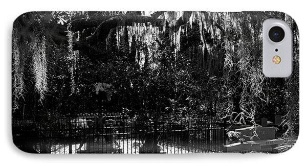 Mandarin Cemetery IPhone Case by Jim Finch
