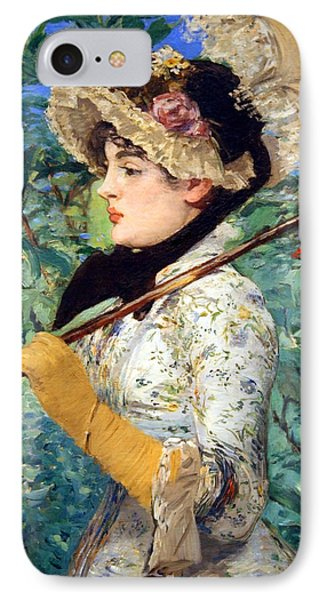 IPhone Case featuring the photograph Manet's Spring by Cora Wandel