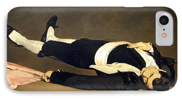 Manet's The Dead Toreador IPhone Case