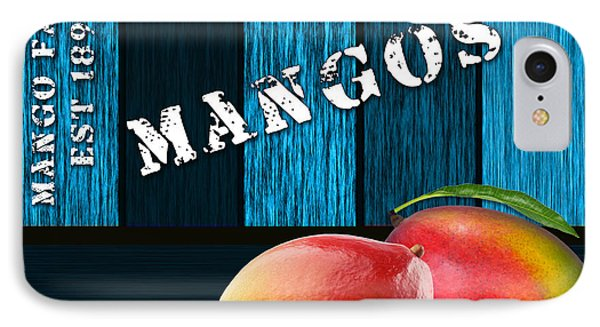 Mango Farm Sign IPhone Case by Marvin Blaine