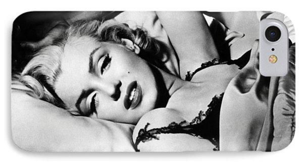 Marilyn Monroe (1926-1962) Phone Case by Granger