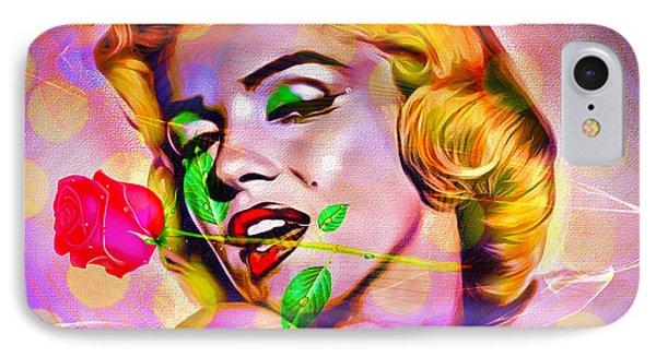 Marilyn Monroe Phone Case by Eleni Mac Synodinos