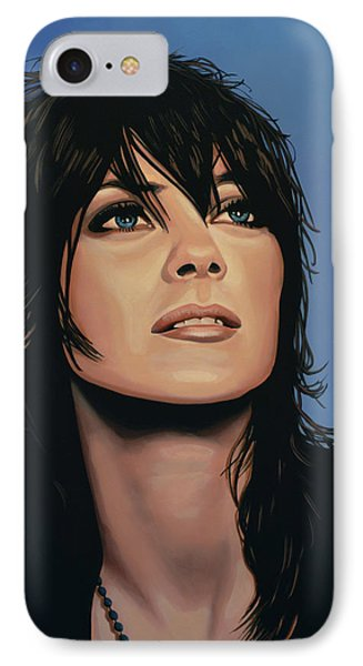 Marion Cotillard IPhone Case by Paul Meijering