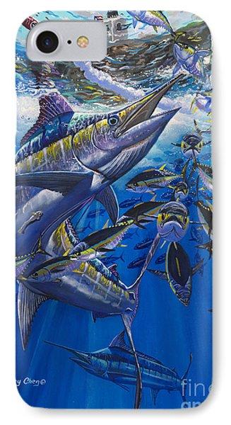 Marlin El Morro IPhone Case by Carey Chen