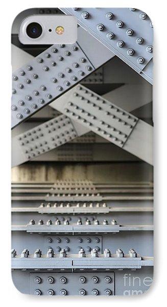 Massive Girder Bridge IPhone Case by Yali Shi