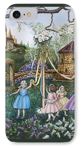 Mayday Serenade  IPhone Case by Linda Simon