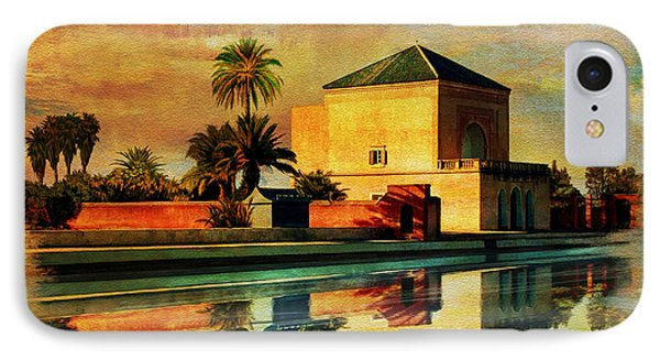Medina Of Marakkesh IPhone Case by Catf