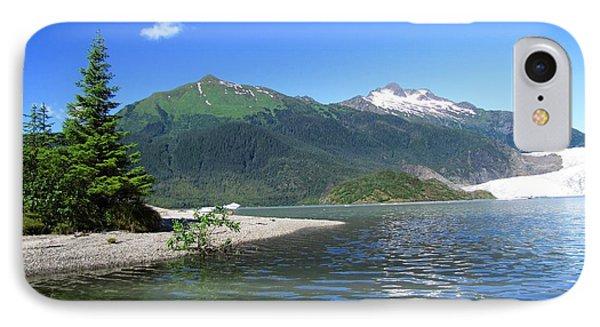 Mendenhall Glacier IPhone Case by Jennifer Wheatley Wolf