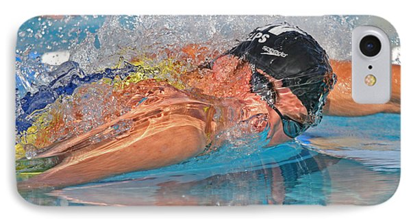 IPhone Case featuring the photograph Michael Phelps by Duncan Selby