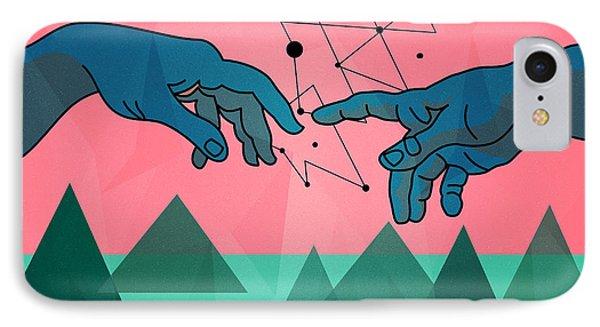 Michelangelo IPhone Case by Mark Ashkenazi