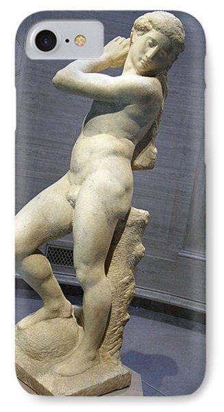 Michelangelo's David Apollo -- 1 IPhone Case