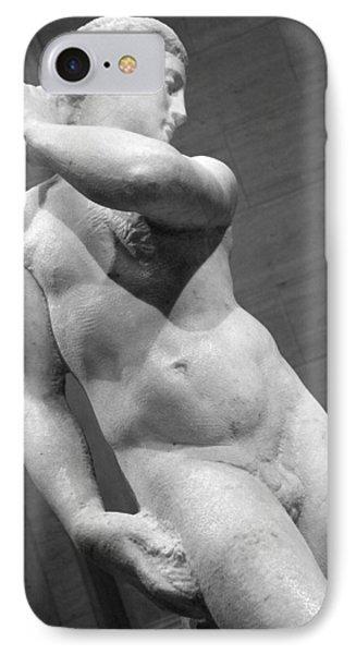 Michelangelo's David Apollo -- 3 IPhone Case