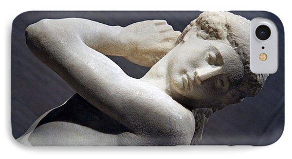 Michelangelo's David Apollo -- 4 IPhone Case