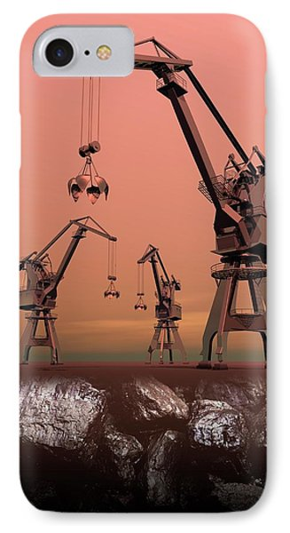 Mining IPhone Case