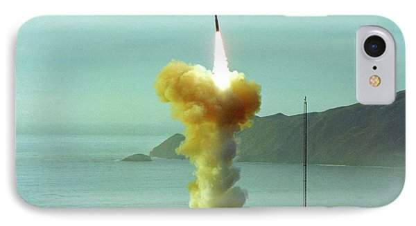 Minuteman Nuclear Missile Launch IPhone Case