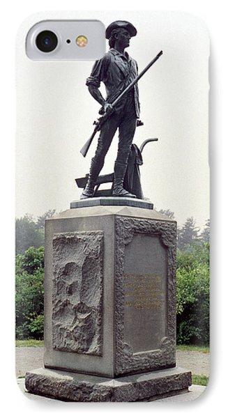 Minutemen Soldier Phone Case by Granger
