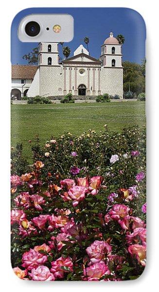 Mission Santa Barbara Phone Case by Michele Burgess