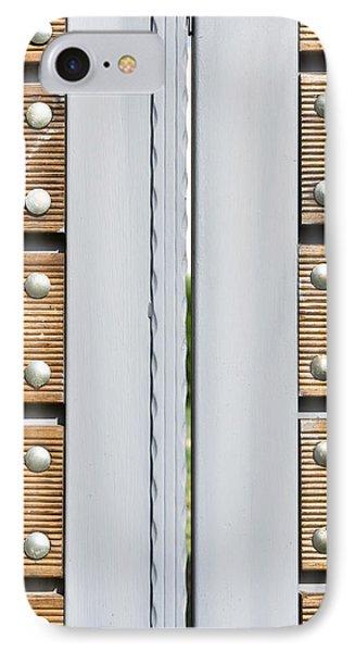 Modern Gate IPhone Case by Tom Gowanlock