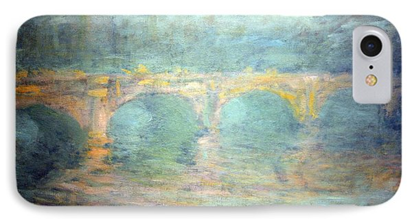 Monet's Waterloo Bridge In London At Sunset IPhone Case by Cora Wandel